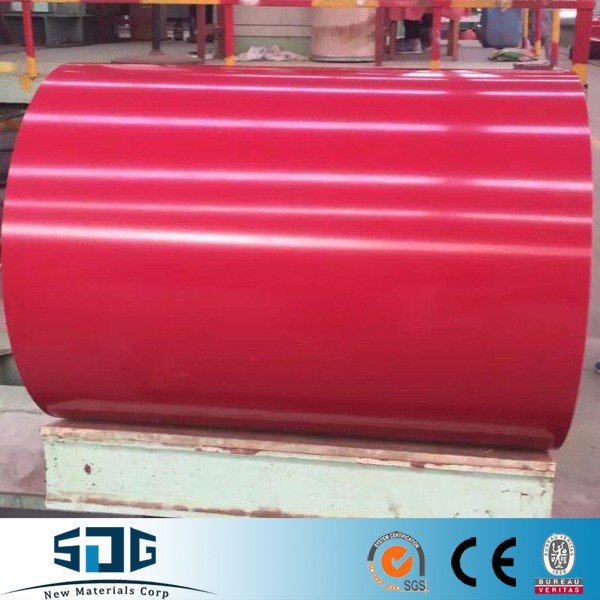 Prepainted GI Steel Coil / PPGI / Color Coated Galvanized Steel Sheet Metal Standard Sheet Size In Coil From China