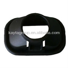 Custom black plastic ground cover by injection molding PI-145