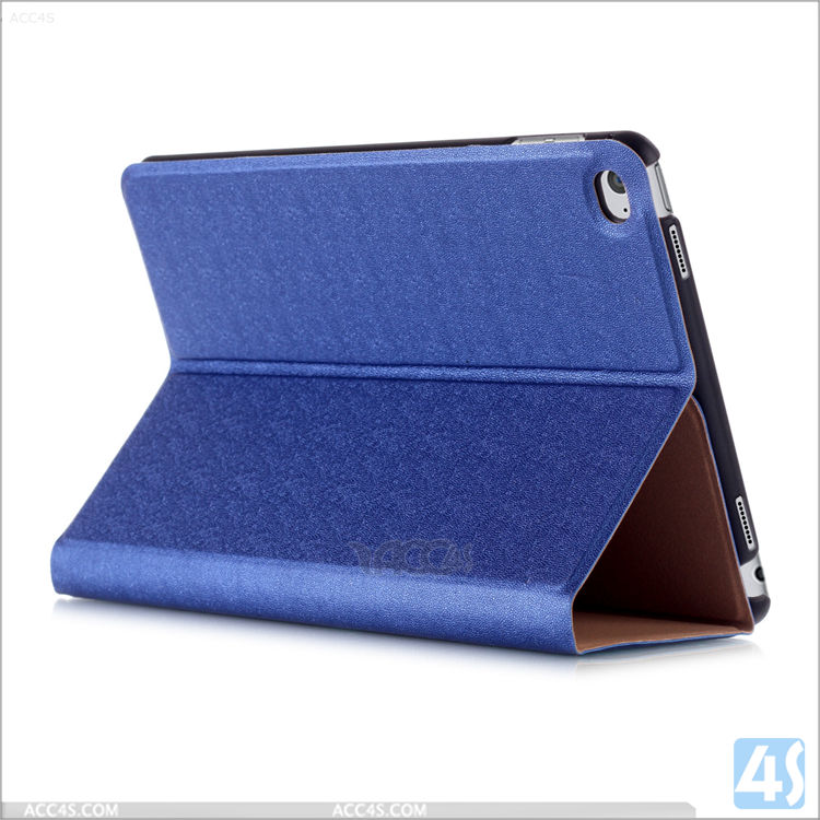 Factory Customized 12.9 Inch PU Leather Tablet Case For iPad Pro , 9.7 Inch Stand Cover For iPad Air 2 , For iPad Mini 4 Cover