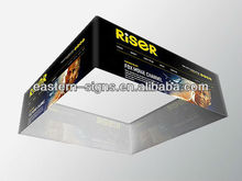 Tension fabric advertising hanging banner stand