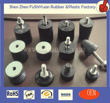 Control Arm Bushings Rubber Black Rear mounting blocks Rubber Mounting Blocks with Screw