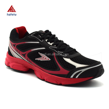 2 Colors In Stock Size 40-45 Breathable PU <strong>Air</strong> Mesh Uppers Rubber MD Outsole Men Jogging Sport Shoes
