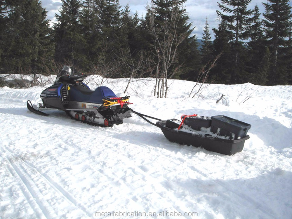 Best Utility Snow Sled Pulled by Snowmobile