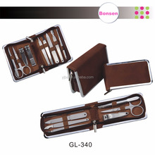 Good quality hot sale mini travel manicure pedicure grooming set