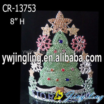 Wholesale custom Christmas tree pageant crowns