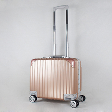 Brand new pc trolley suitcase luggage case laptop business pc/abs beauty cases
