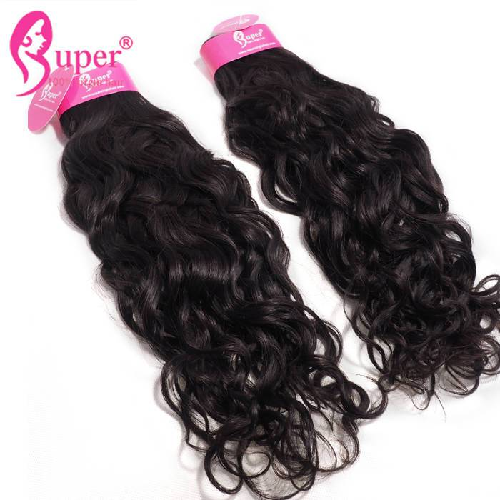 Water Wave Bundle With Closure Cheap Virgin Malaysian Remy Freetress Hair Extantion
