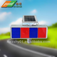 specialized production solar traffic road safety flashing and warning light