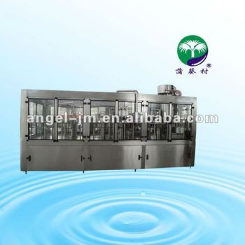 ISO complete 12000BPH PET bottled mineral water bottling plant