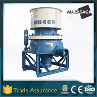 Allis Saga MH&MS Series high reduction ratio hydraulic cone crusher