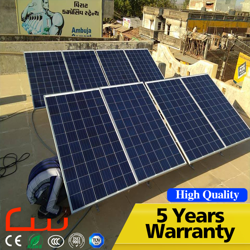 5 Years Warranty High Quality 100W Poly Solar Panel Wholesale