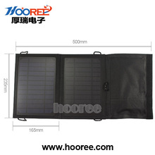 Hot!!! Portable and foldable solar pack 7w Solar Panel Charger Bag