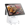 Carav Dual Display Restaurant POS System All In One Touch Screen POS Cashier POS