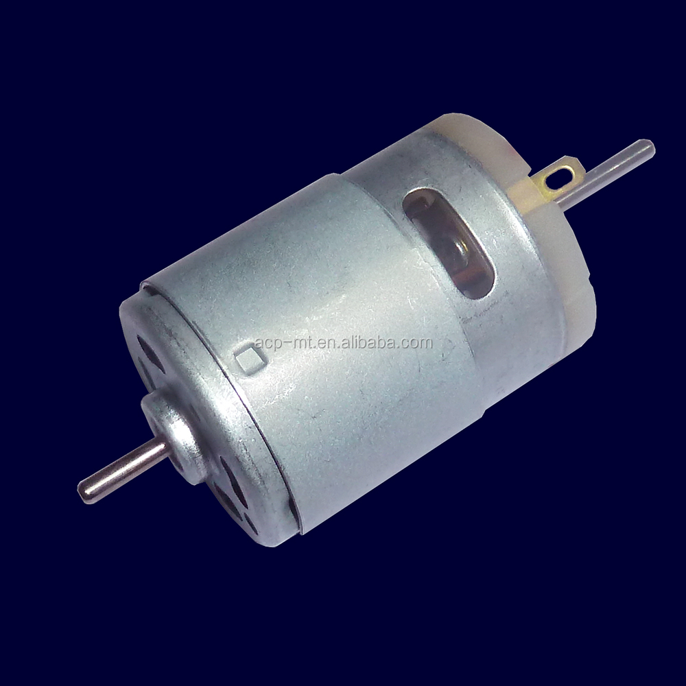high speed 20000rpm micro DC dual shaft <strong>motor</strong> RS-385
