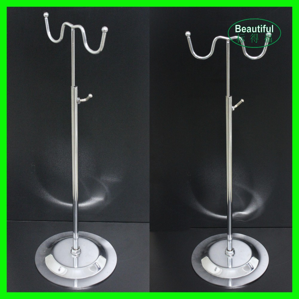 Countertop Hanger Display Stand with double Hook for Purses, Hanging Forms, Accessories
