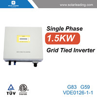 Grid tied system used mitsubishi inverter with mppt controller