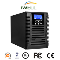 2KVA high frequency online ups with pure sine wave backup power generator