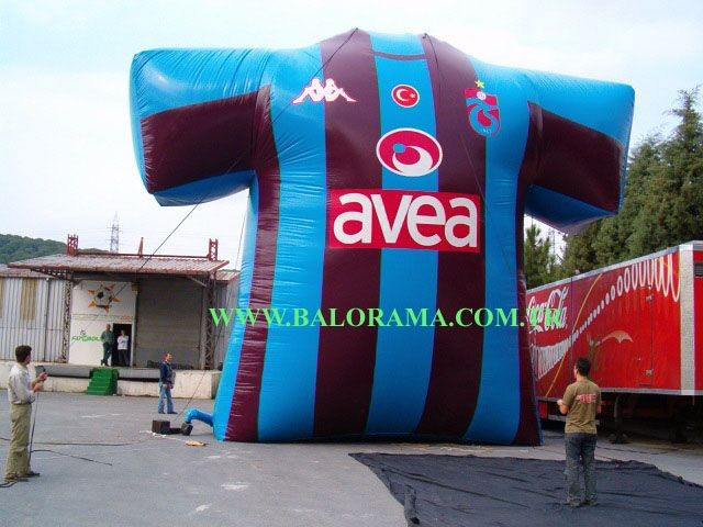 inflatable balloon form, special shape inflatables, advertising balloons
