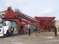 YHZS75 Production Rate 75 m3/h cement and concrete machine