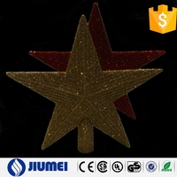 2015 Holiday Decoration PVC Material Christmas Tree Star