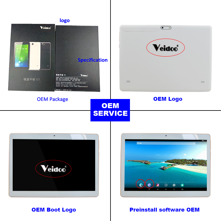 Hot sale touch tablet with sim card slot quad core 10 inch 3g android tablet pc