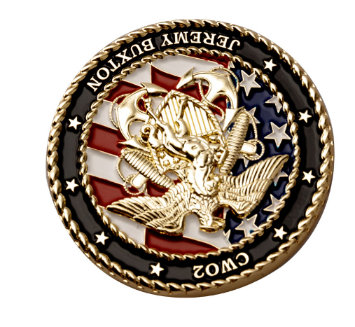 American Eagle 3D Relief Commemorative Medallion Double-sided challenge Coin