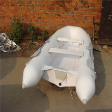 Nice product Fiberglass Fishing Boat Rowing Boat With PVC Air Tube