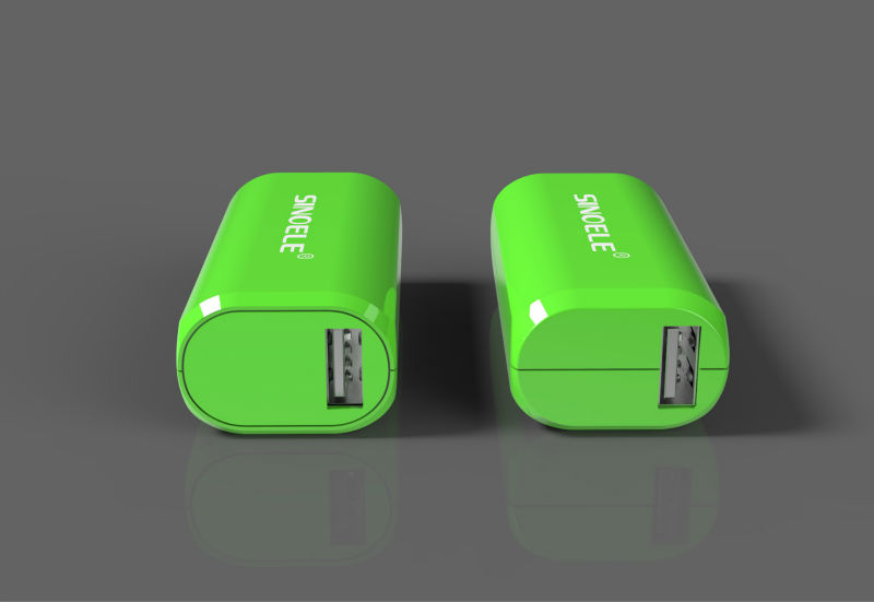 2200mAh power bank mobile phone travel charger