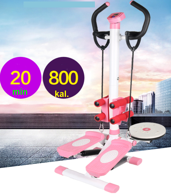 Exercise Stepper with Handle bar