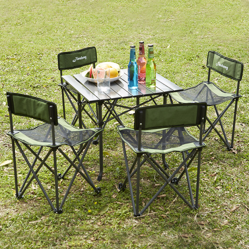 cheap wholesale outdoor furniture portable foldable banquet camping table <strong>folding</strong> picnic table 4 seat wholesale picnic table set