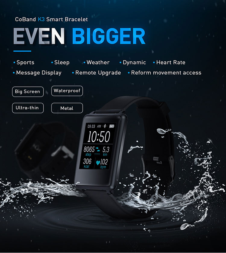 2017 big screen pedometer bracelet waterproof bluetooth fitness band,health monitor watch health monitor watch
