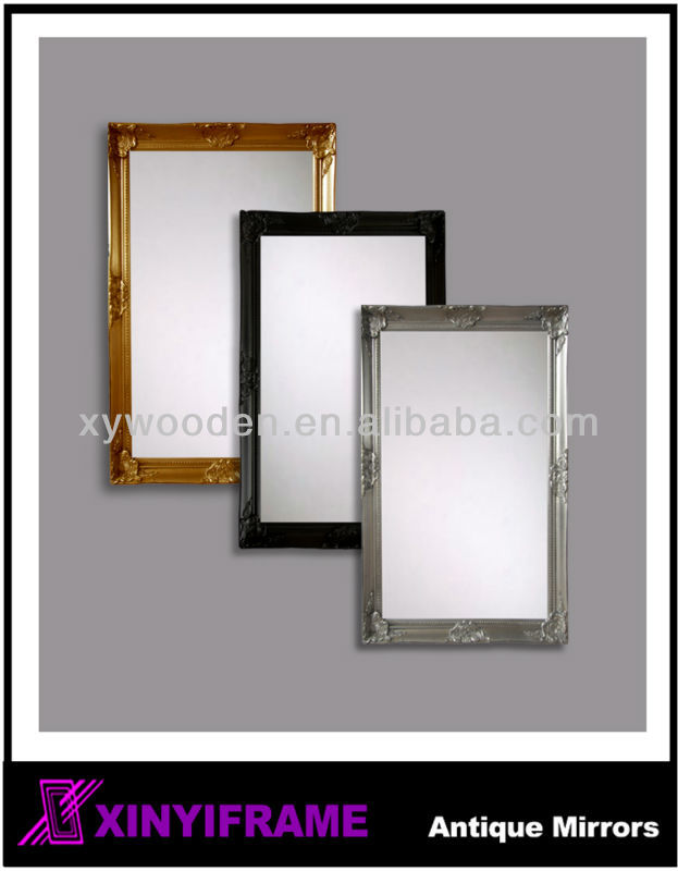 Decorative Wall Antique Wood Carved Classic Mirror Frame