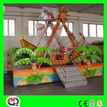 ISO9001, CE, TUV, BV approved small pirate ship for sale