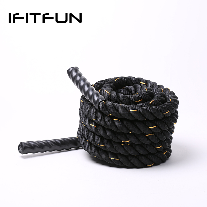Training Battle rope