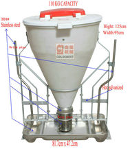 ^ good qualtiy farming equipment dry/wet poultry pig feeder