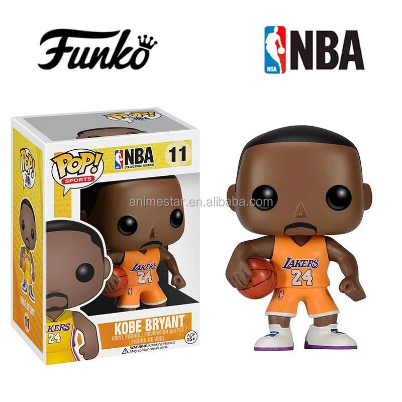 Famous Funko POP NBA Mindstyle Kobe Bryant PVC Action Figure Toy #11