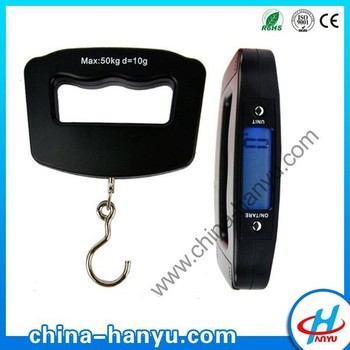 50kg digital travel luggage weighing scale