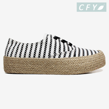 Customized Brand Women Flat Shoes Espadrilles Beautiful Ladies Shoes