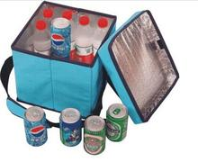 600d Polyester Popular Foldable Seat Cooler Box for Picnic