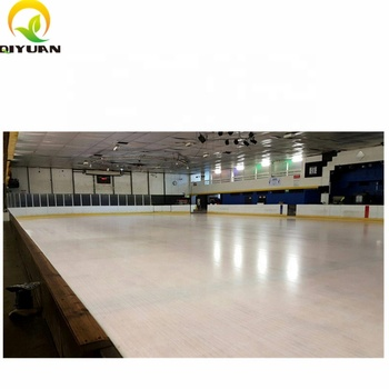 Anti abrasion artificial ice block synthetic ice skating rinks