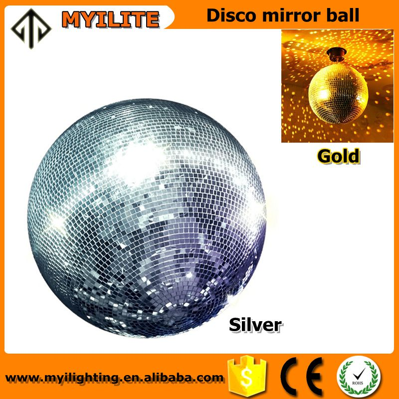 Diameter 50cm 20 inch large mirror balls for cheap lights/rotating disco mirror ball with free electric motor for DJ lights