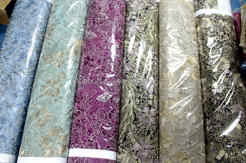 New arrival thick french chemical lace wholesale french lace fabrics water soluble lace for garment