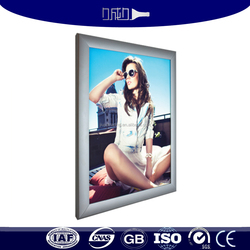 high quality anodized aluminum lighting box frames