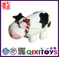 China plush toys supplier funny cow toy wholesale