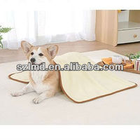 USB warm heated electrical animal lucite acrylic pet dog bed