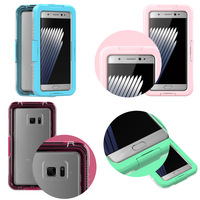 Waterproof Shockproof Dustproof Snowproof Case Cover Mobile Phone Accessories for Samsung Galaxy Note 7