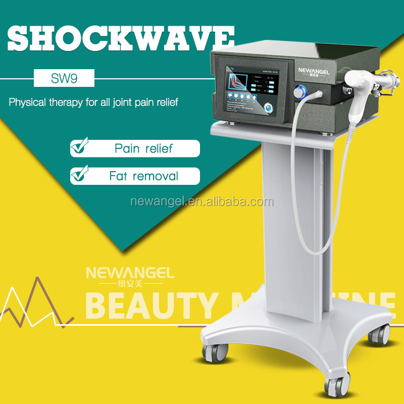Long and lasting body joint relief high energy shockwave therapy machine
