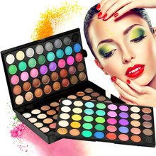 Pro 120colors Eye shadow Palette Shimmer Eye Shadow Set Kit New High quality