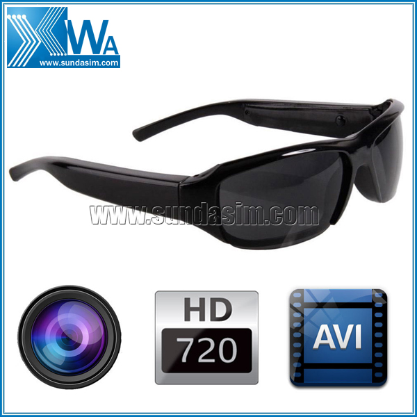 Sunglasses with Camera HD Video & Sound Recorder Hidden 5 Megapixel Camera Glasses in Guangzhou