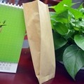 Brand new brown paper bag with window with high quality